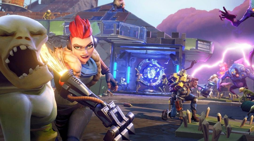 Fortnite Save The World Is A Weird, But Fun Co-op Game