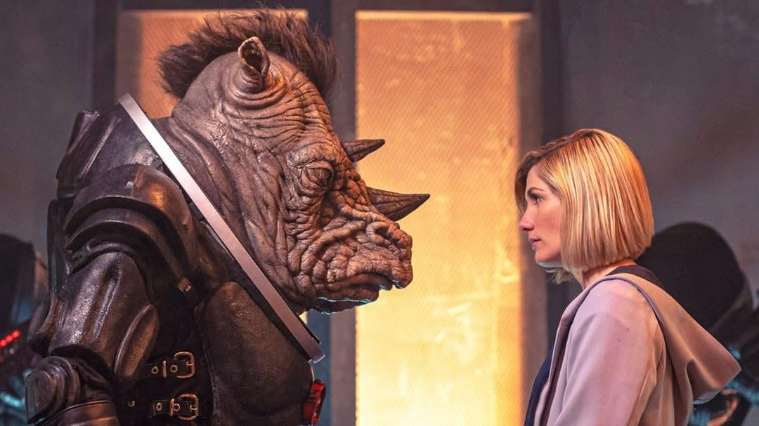 Our First Look At Doctor Who Season 12 Reveals The Return Of A Familiar Foe (and A Bitchin' Mohawk)