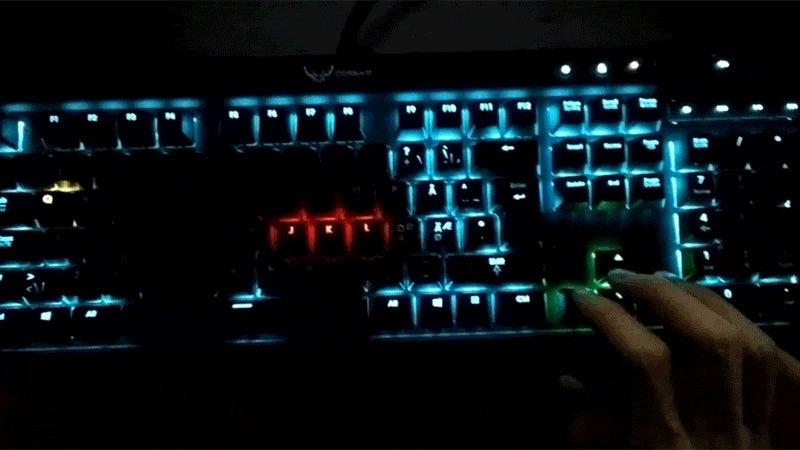 Snake, Running On A Keyboard