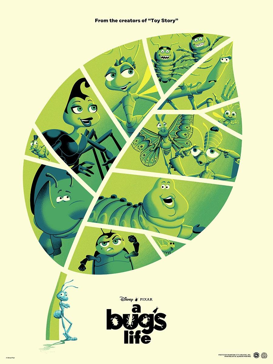 "Image: <a href=""https://collider.com/pixar-mondo-posters-a-bugs-life-incredibles-2/"">Collider</a>, Mondo"