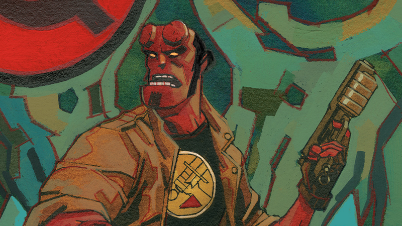 A Look Inside Hellboy's Latest Historical Adventure In Hellboy And The BPRD: 1956