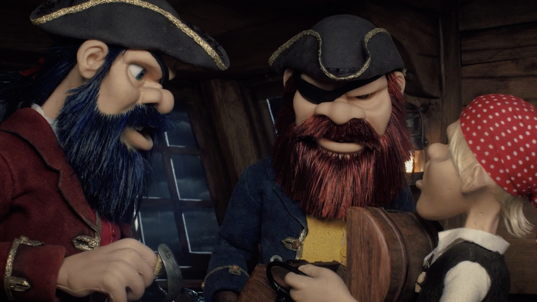 Pirates Fight Over A Treasure Greater Than Booze In The Stop-Motion Short RUM