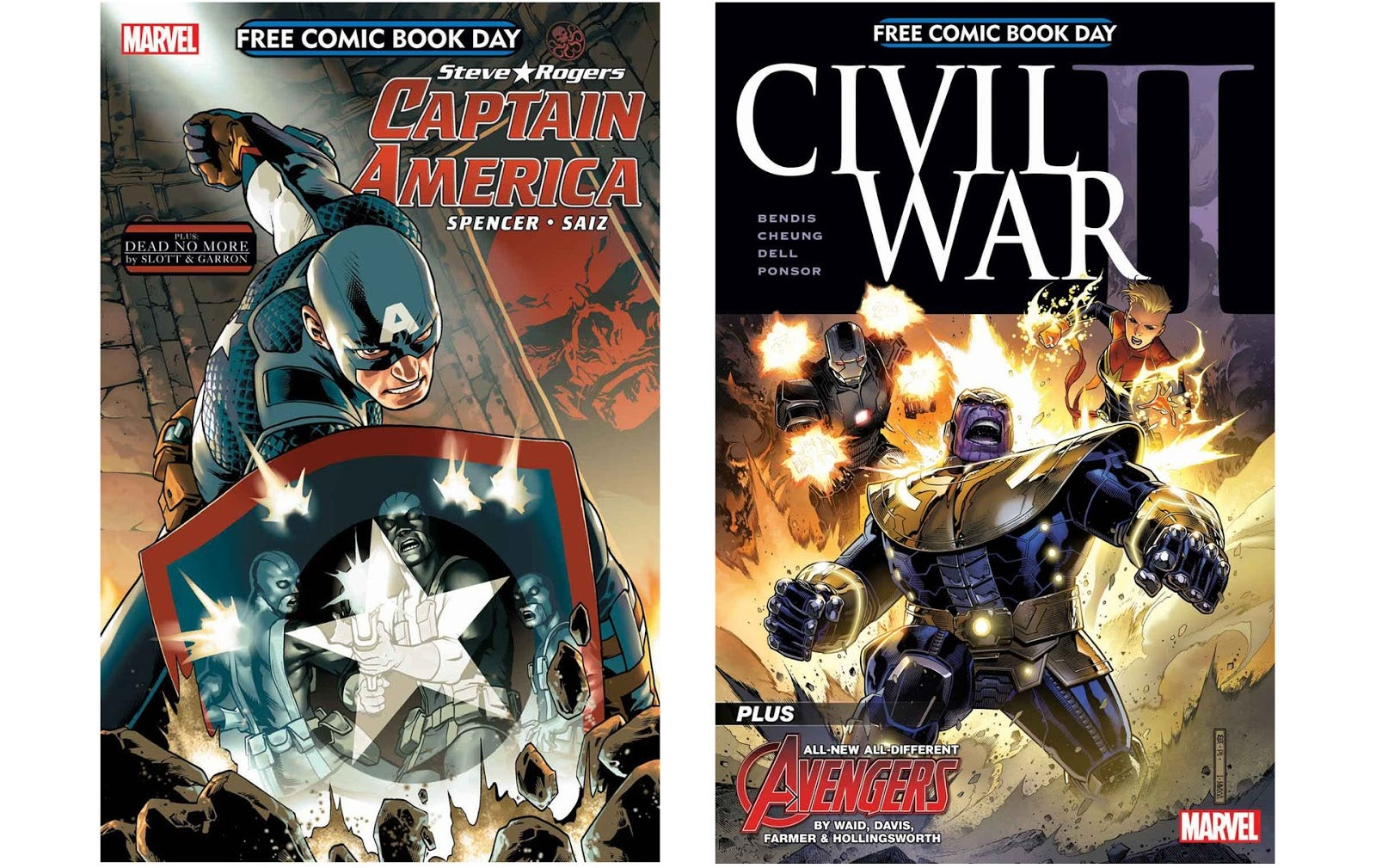 Marvel's Free Comic Book Day Titles Tease Big Drama for Iron Man and Spider-Man