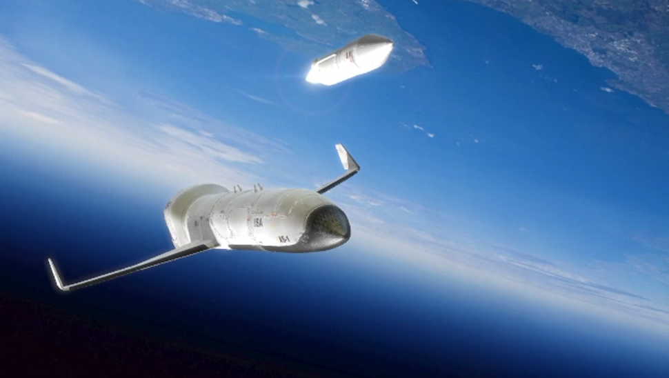 DARPA'S Turning To Bezos And Branson For Help Building Its Spaceplanes