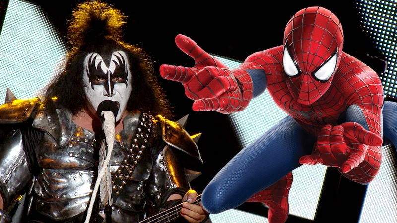 Gene Simmons Wants To Trademark Spider-Man's 'Thwip' Hand Gesture