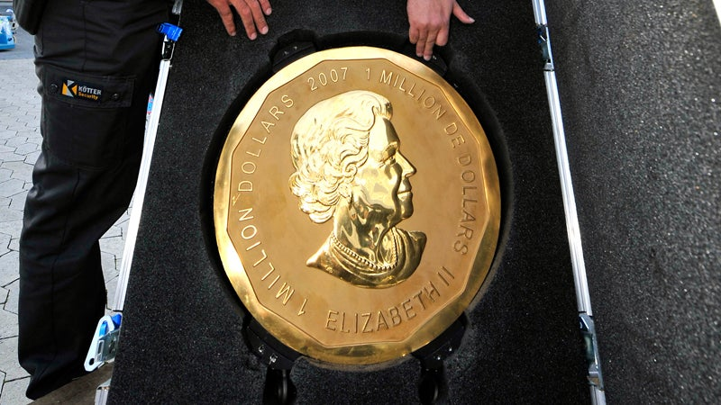 Cops Bust Alleged Masterminds Behind Giant Canadian Coin Heist