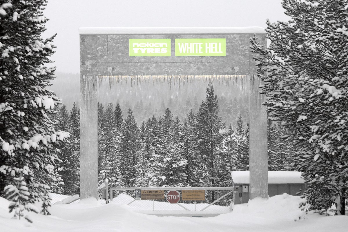 The Gorgeous White Hell Where They Test Your Winter Tires