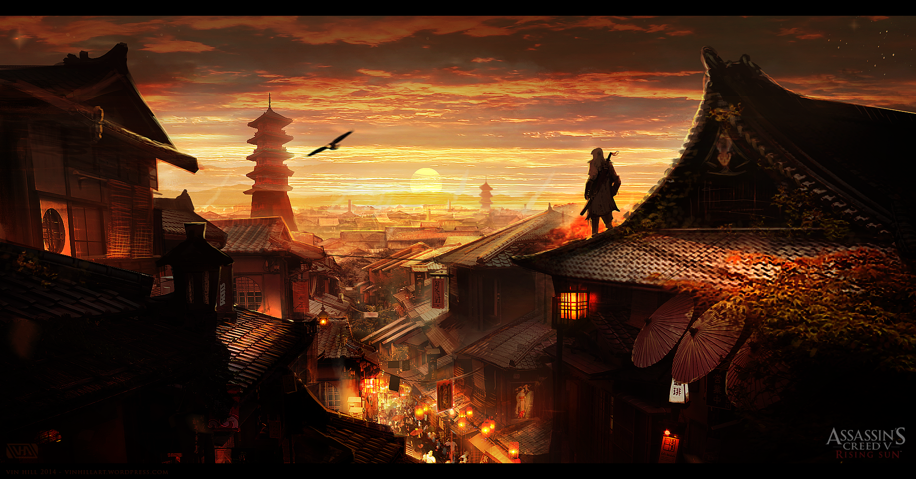 What A Japanese Assassin's Creed Could Look Like