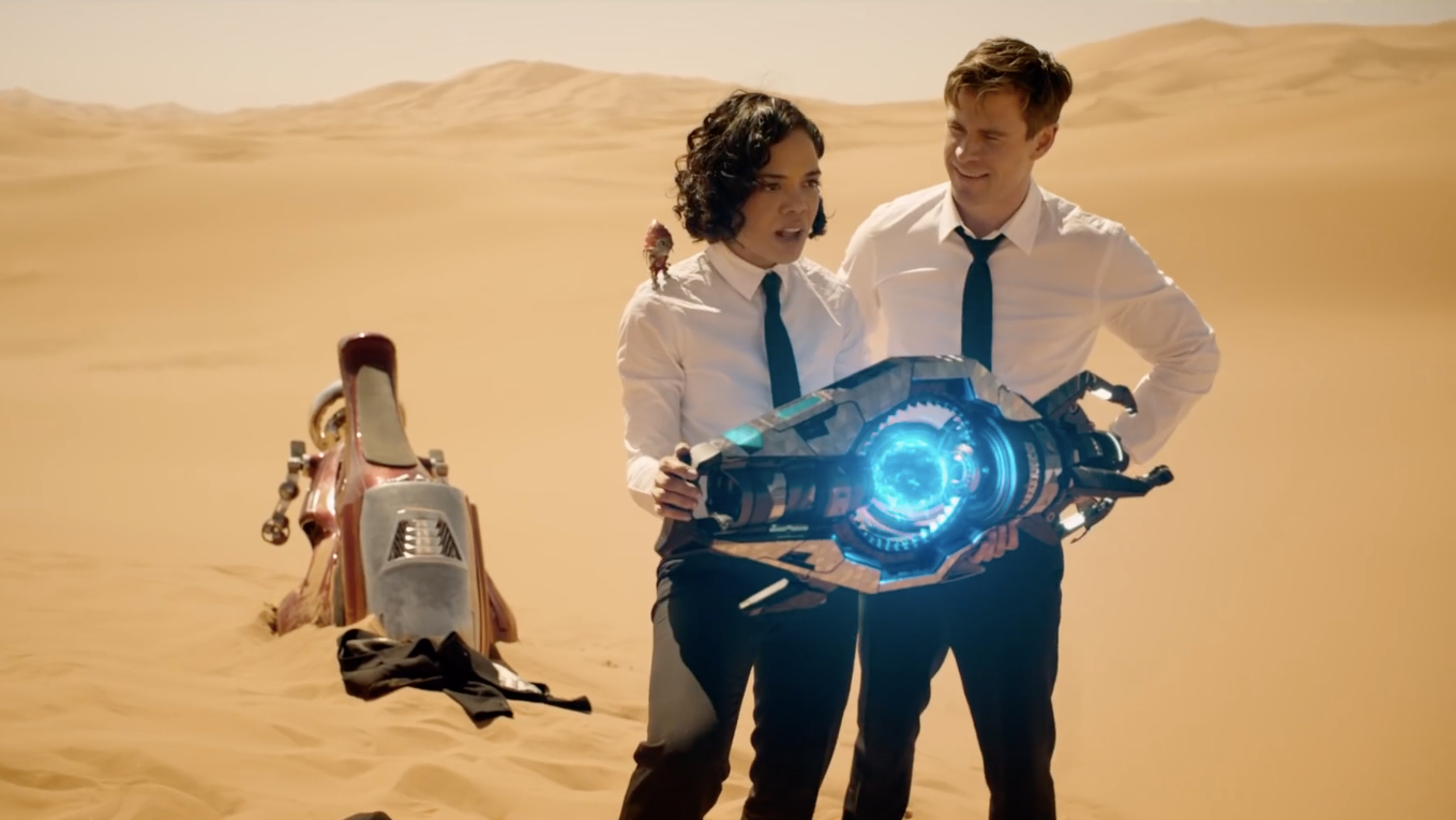 The New Men In Black: International Trailer Introduces The Movie's Shapeshifting Villains