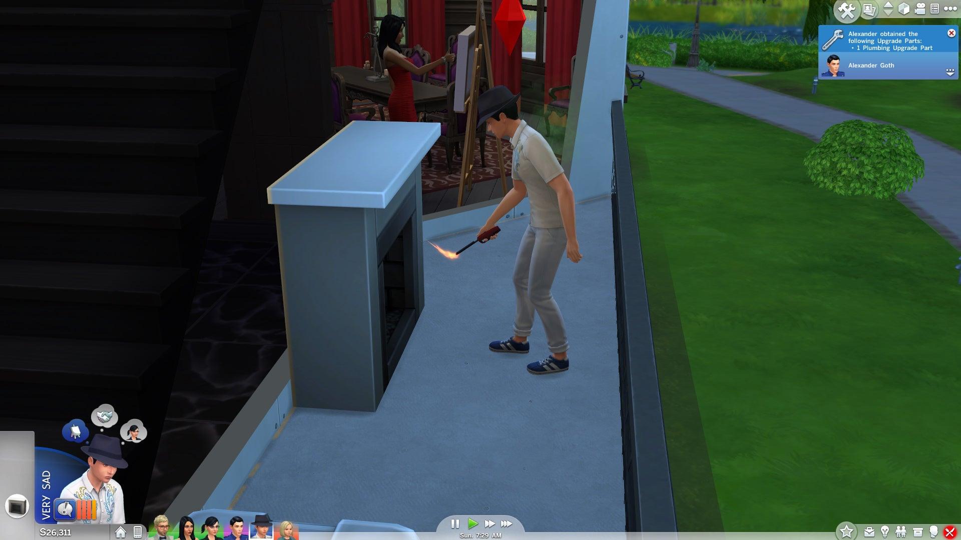 The Sim Who Refused To Die