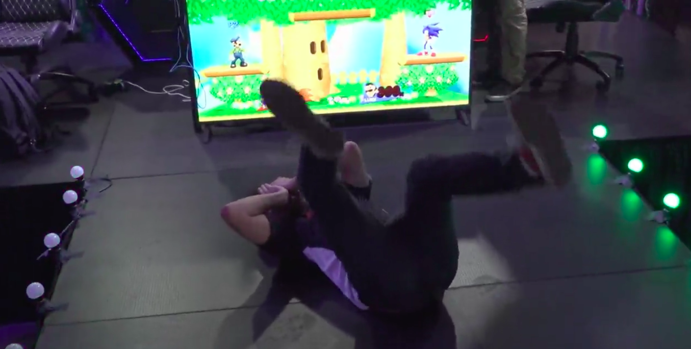 The Newest Smash Teen Is Dominating With Luigi