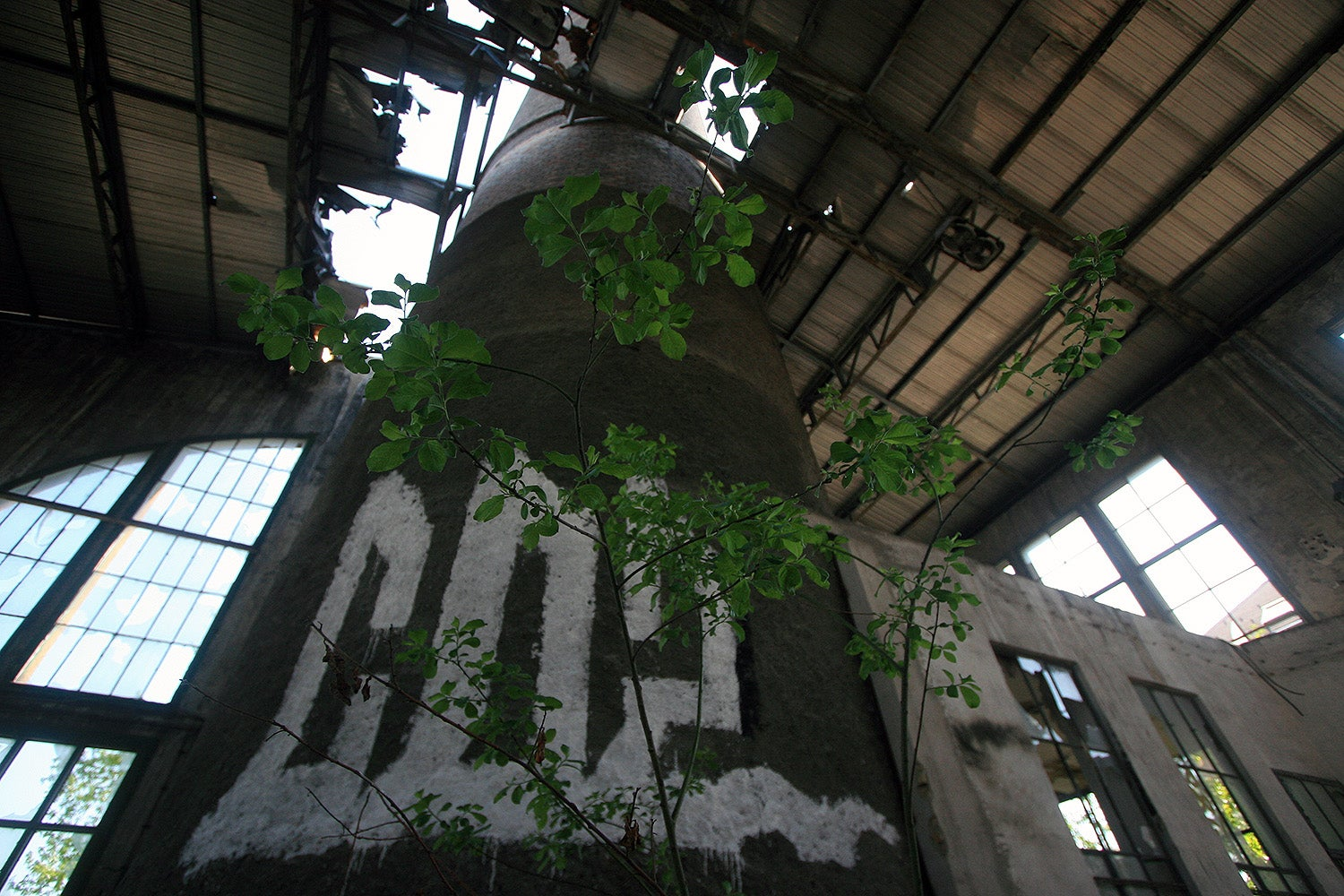 Inside an Abandoned Socialist Textile Factory