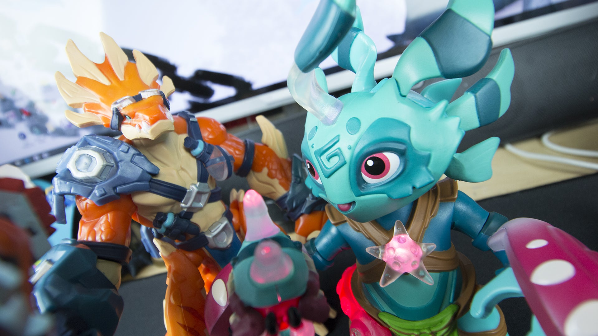 The Toys For The Latest Skylanders Style Game Are Too Good Kotaku