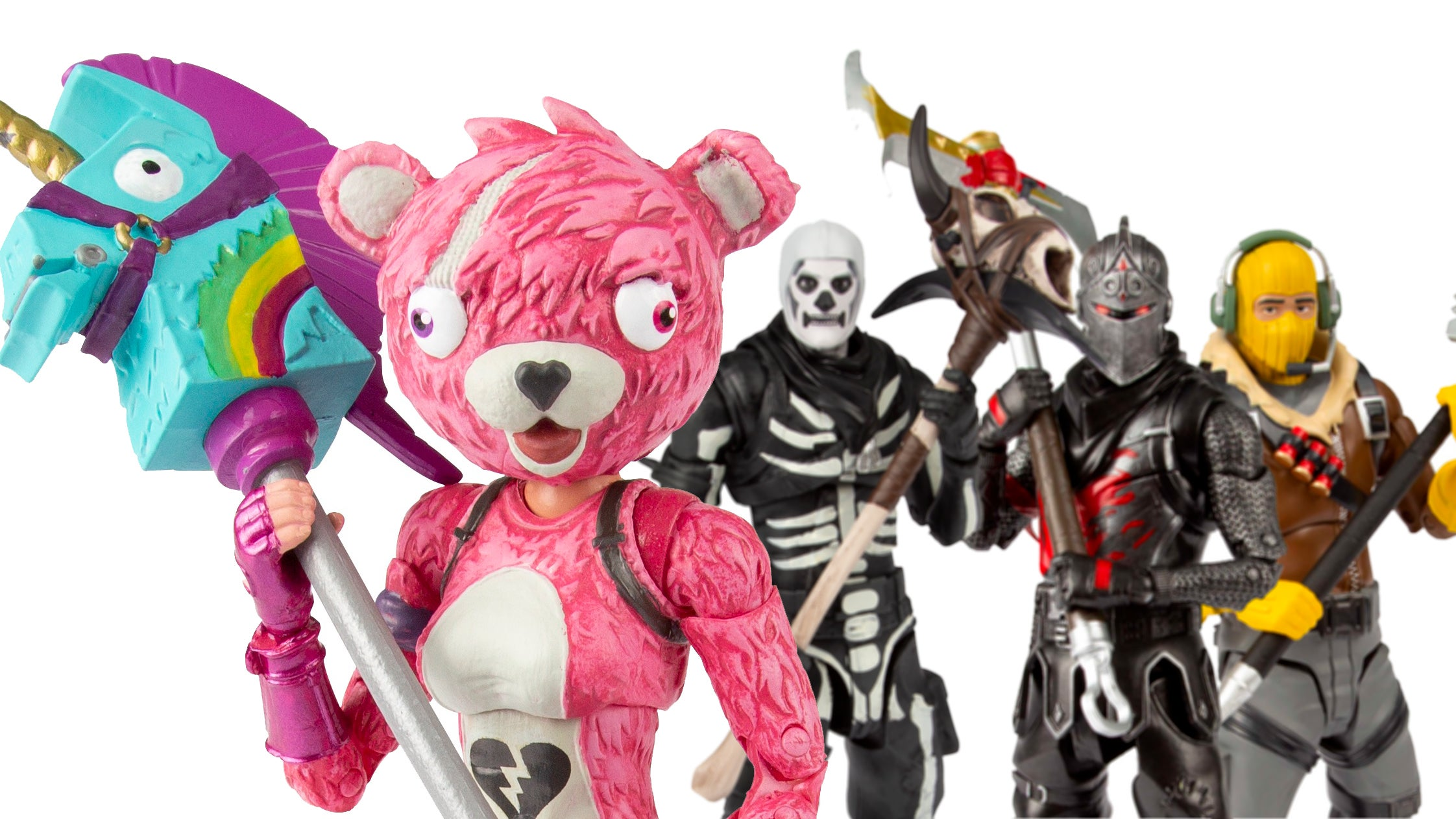 Only One Of These Fortnite Action Figures Is Super Cuddly