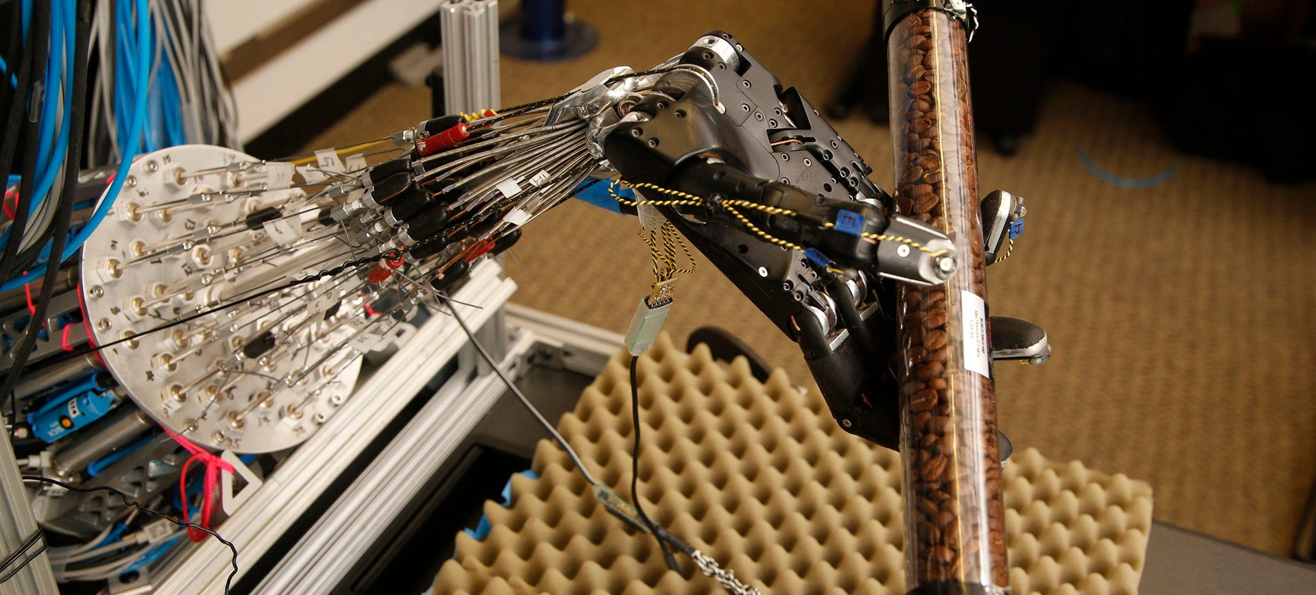 This Robot's Teaching Itself to Twirl a Stick