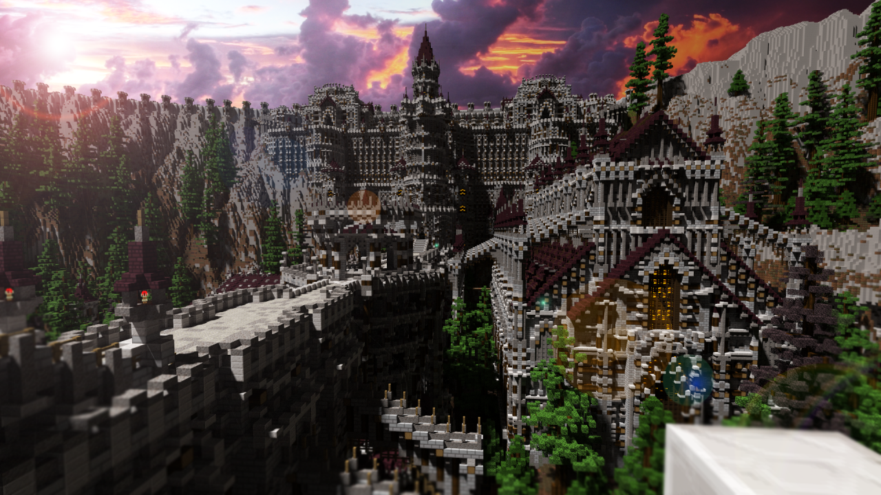 An Iconic Dark Souls Location, in Minecraft