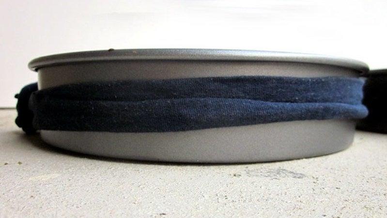 This DIY Cake Strip Bakes Perfectly Flat Cake Layers