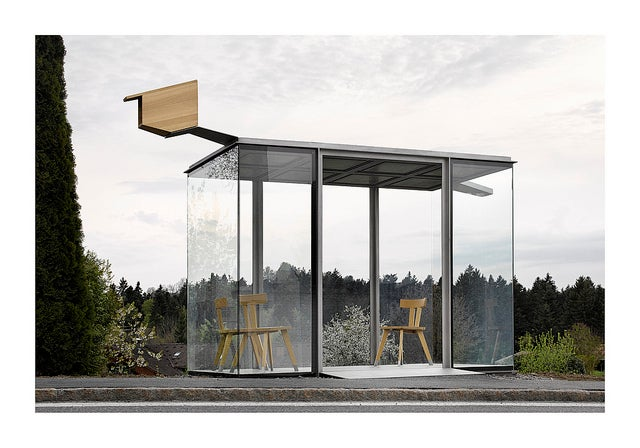 These 7 Bizarre Bus Stops Are All In the Same Tiny Austrian Town