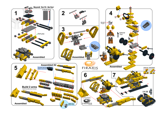 Official Civilisation LEGO Doesn't Include Nukes (Or Pottery)