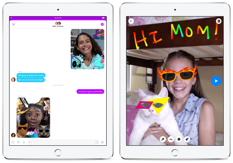 Facebook Launches New Messenger App For Young Kids In The US – What Could Possibly Go Wrong?