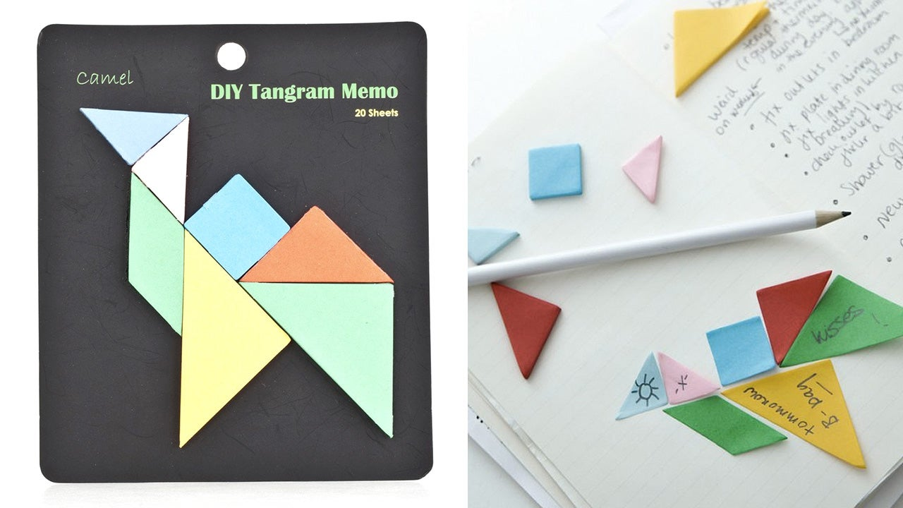 Tangram Sticky Notes Let You Leave a Message Without Writing a Word