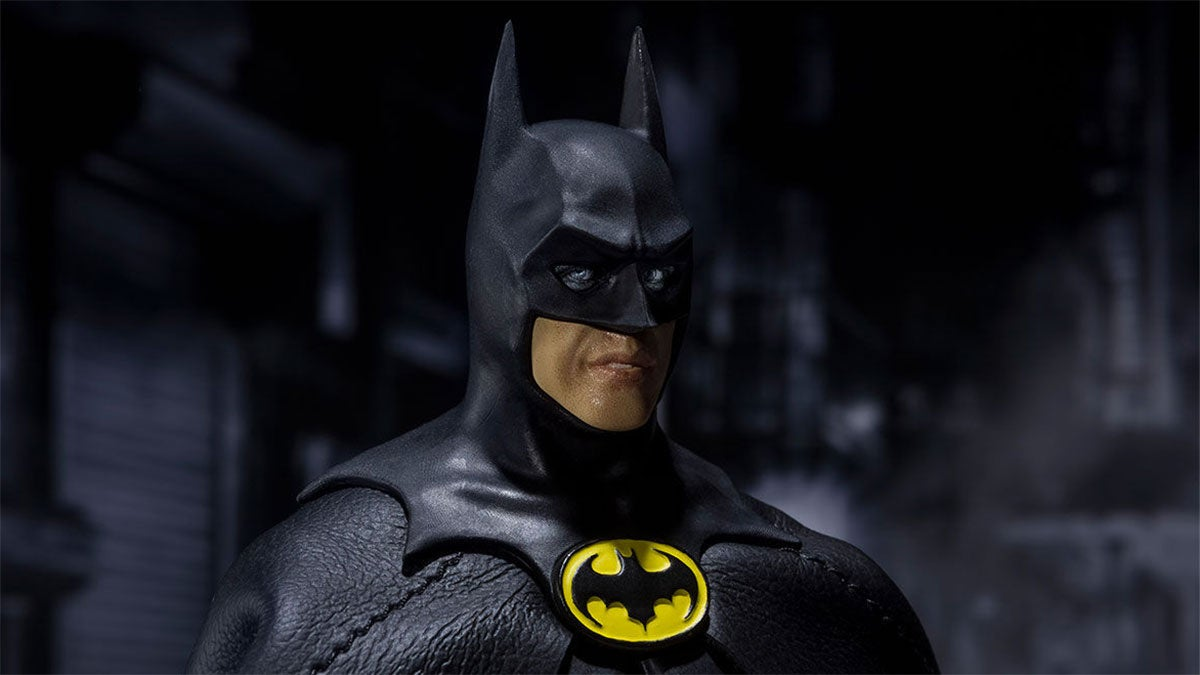 I'm Haunted By The Eyes Of The New Michael Keaton Batman Figure