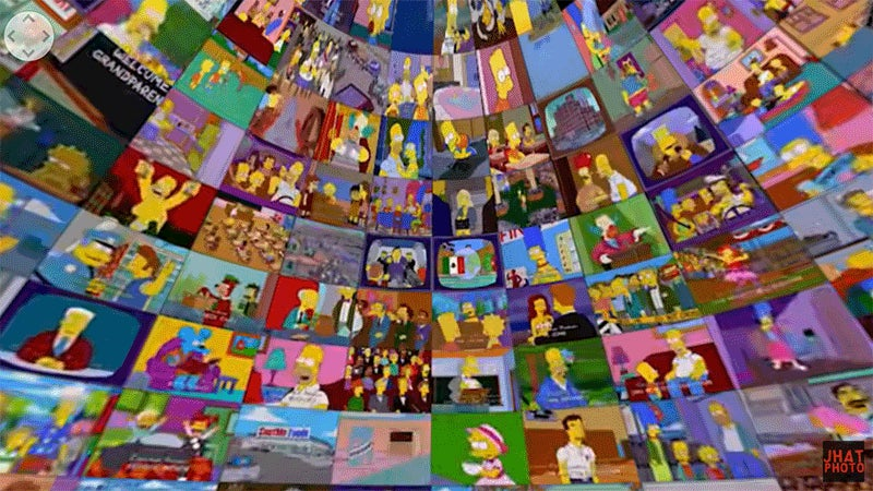 I Want to Spend the Rest of My Life Watching 500 Simpsons Episodes at Once in VR