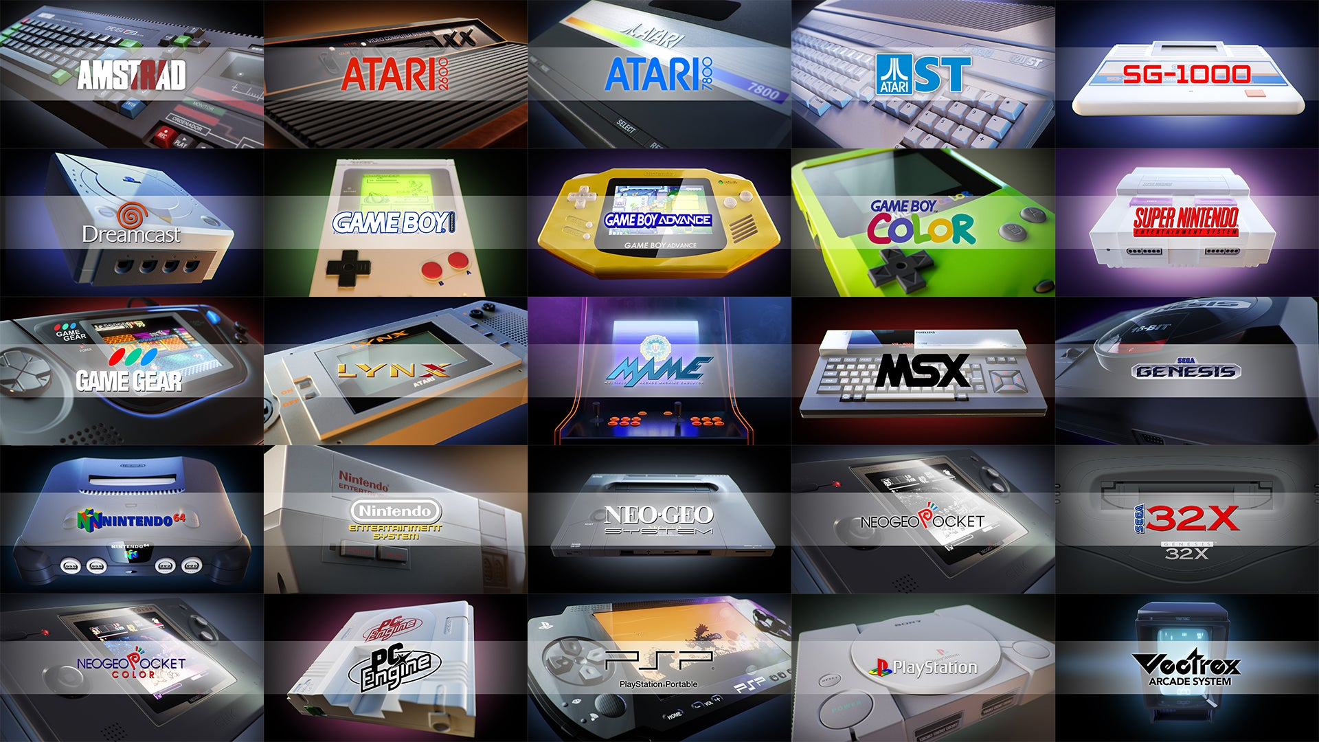 this tiny gaming console can play retro games from 28 different