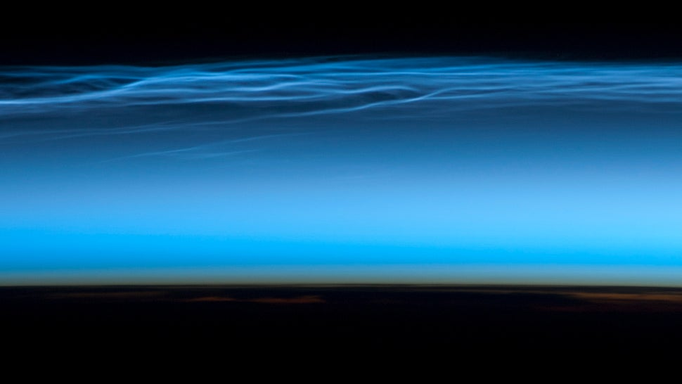 Brilliant Blue Antarctic Clouds Are Appearing Earlier Than Usual