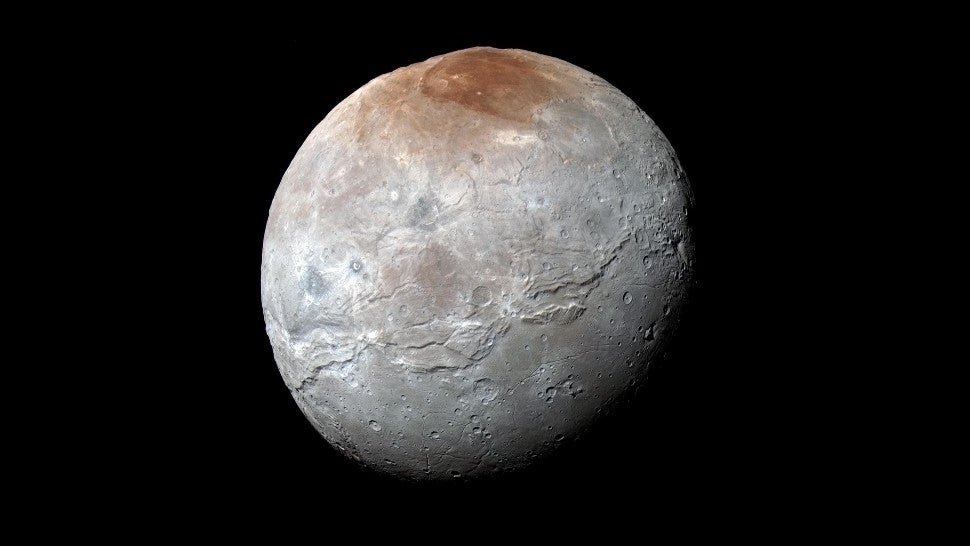 Pluto's Moon Charon Now Has A Crater Called Dorothy, Among Other Newly Named Features