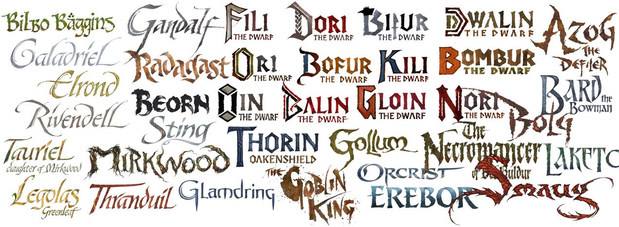 Lord of the rings handwriting