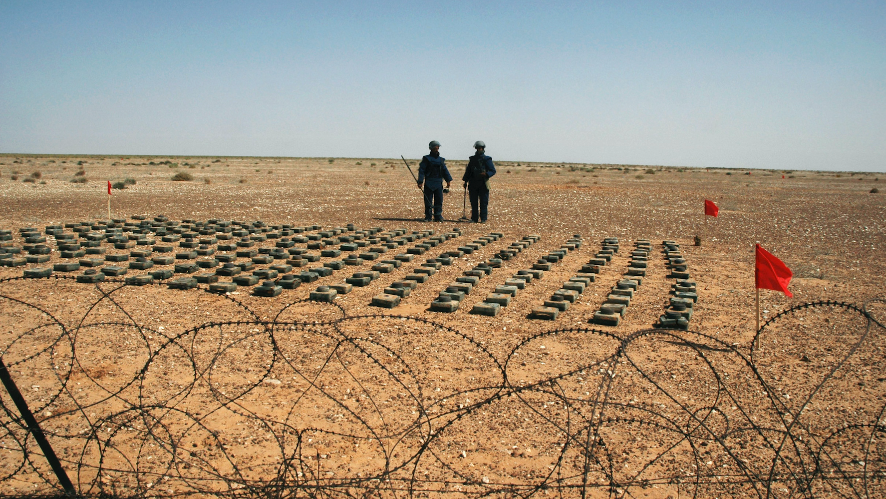 Detonating Landmines Is Better For The Environment Than Deactivating Them, Research Suggests