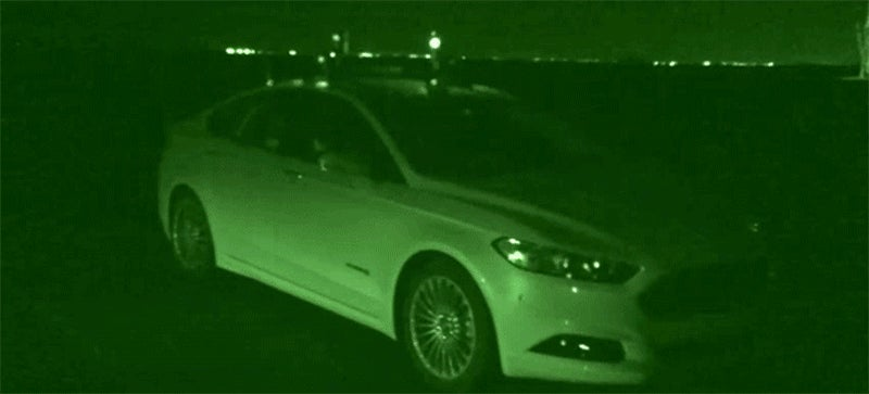 Ford's Testing Its Autonomous Cars in the Dark