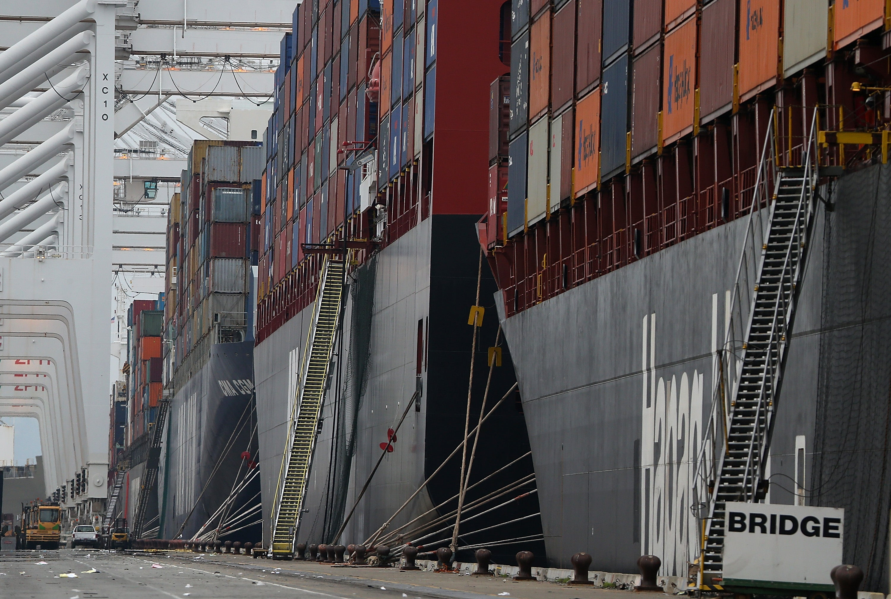 Why Are These Massive Cargo Ships Trapped At 29 US Ports?