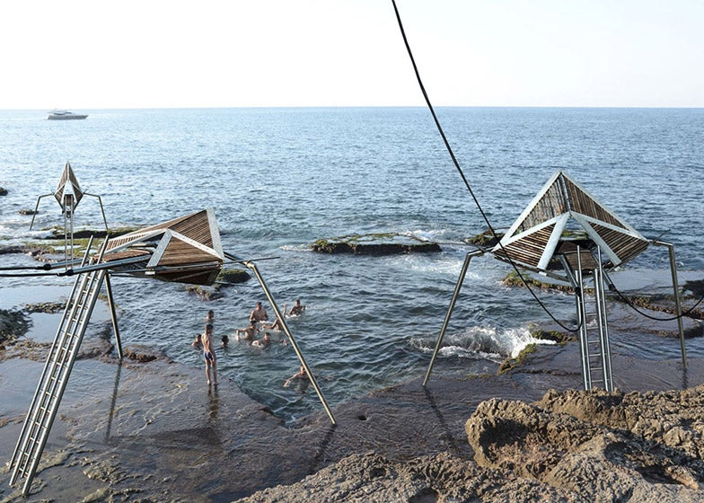 These Eerie Kinetic Sculptures by the Sea Would Also Make Electricity