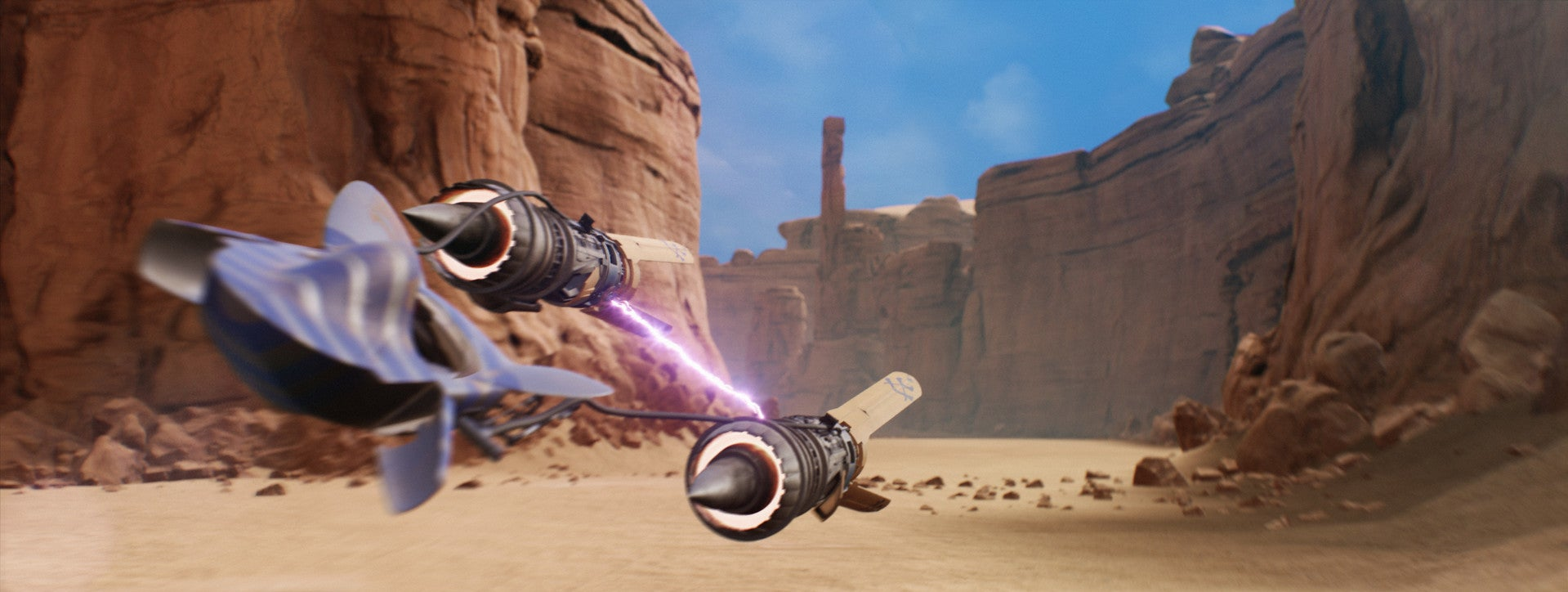 It's Episode I: Racer, Remade In Unreal Engine 4