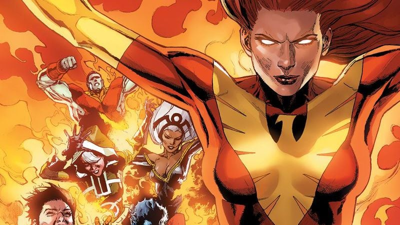 Jean Grey And The Phoenix Will Lead The X-Men In An New Comic Book Series