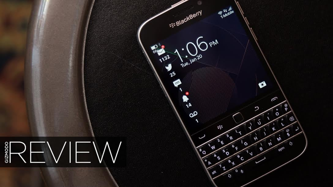 BlackBerry Classic Review: Good at Being a BlackBerry, and Not Much Else