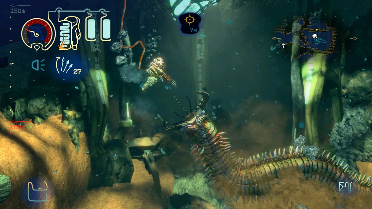 Capcom's Wonderful Underwater 2D Action-Adventure Shinsekai: Into The Depths Was Just Surprise-Released