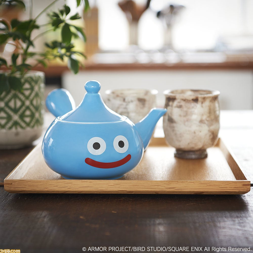 Dragon Quest's Slime Has Been Turned Into Endless Products, But This Is The First Japanese Teapot Ve