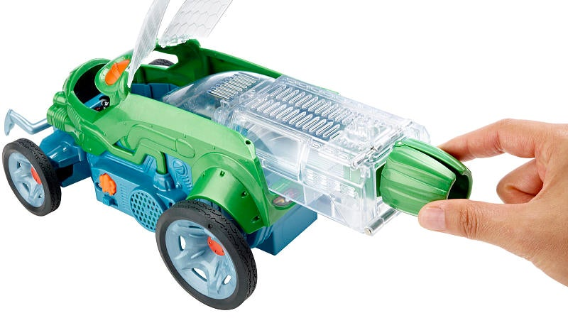 A Live Cricket Steers Mattel's New Autonomous Toy Car