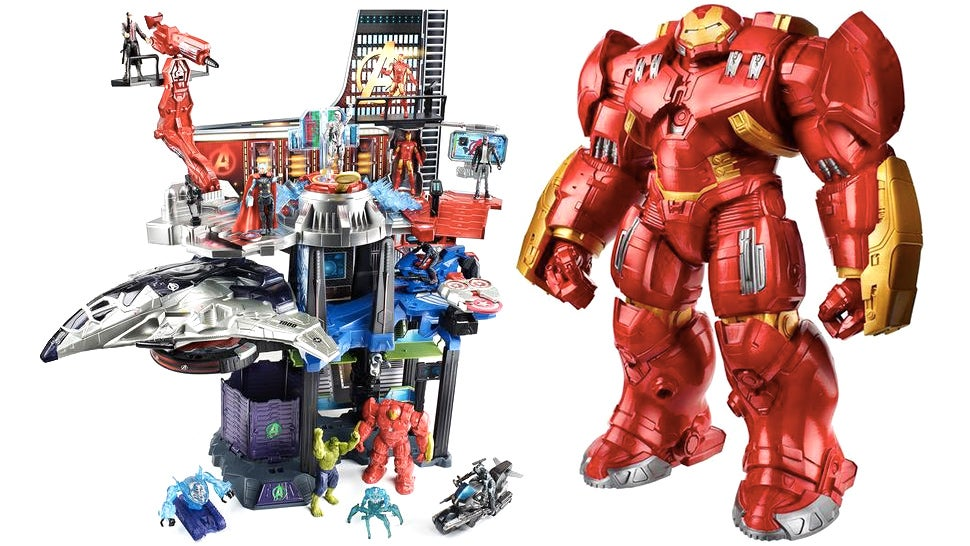 Our First Look At Hasbro's Avengers: Age Of Ultron Toys