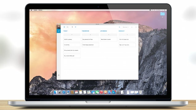 Any.do, the Best iOS To-Do App, Comes to Mac