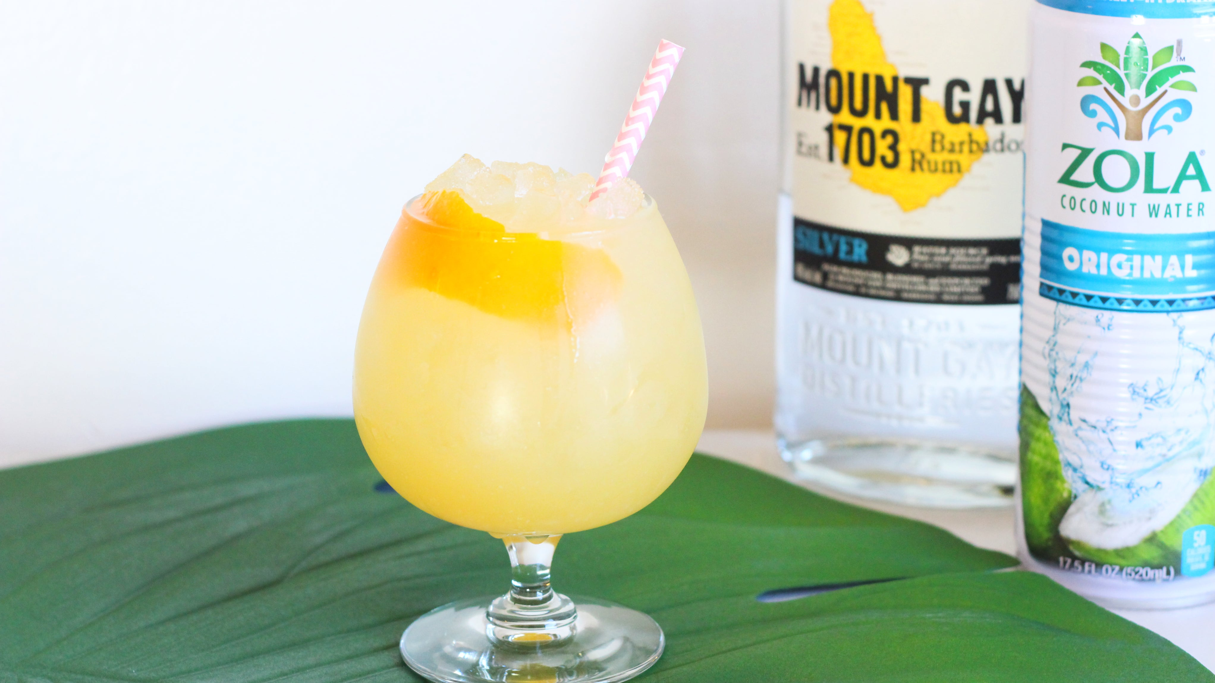 Hydrate While You Imbibe With This Coconut Water Cocktail