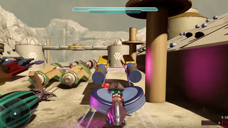 Now This Is Halo 5 Podracing