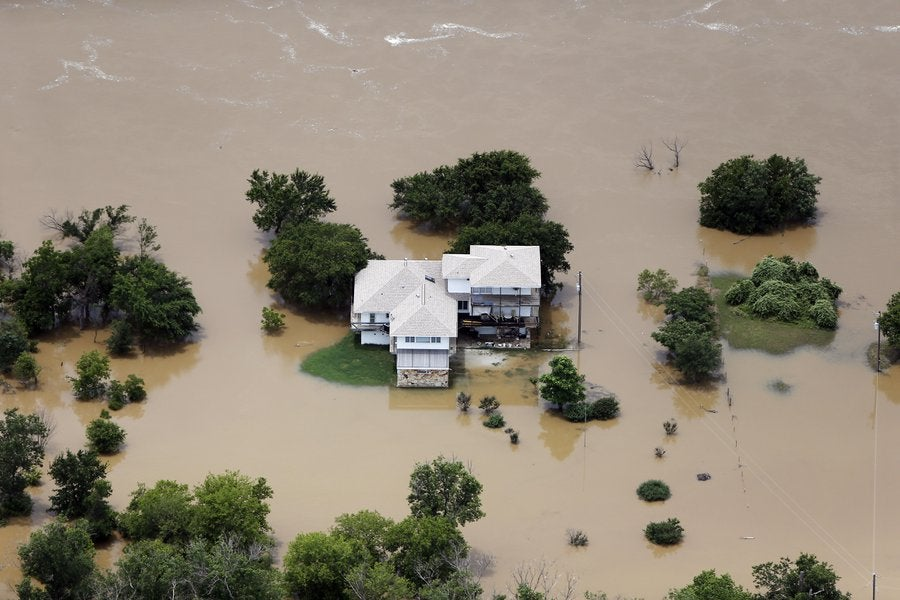 Dramatic Photos Show Some Of The Worst Flooding Texas Has Ever Seen