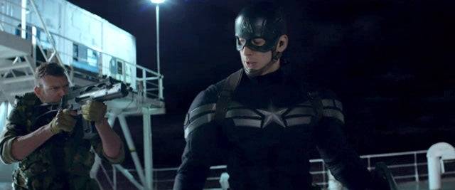 Here's 4 Minutes of Captain America Kicking Arse in The Winter Soldier