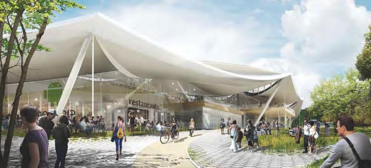 Take a Peek Inside Google's New Planned Campus