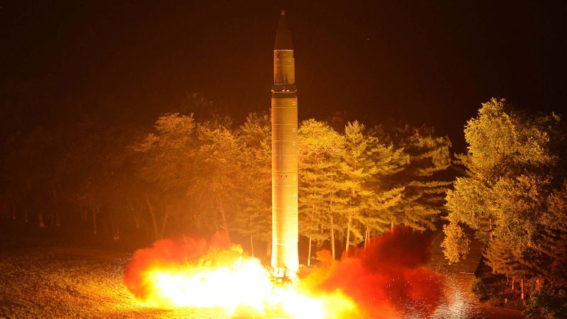 North Korea's Powerful New Missile Tech May Have Been Smuggled From Ukraine