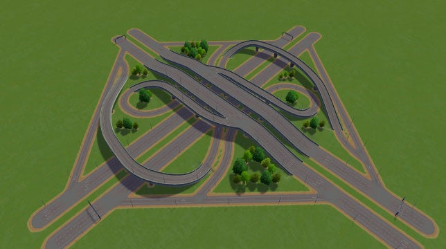 how to make elevated roads in cities skylines